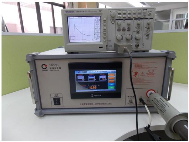 1065S 型浪涌发生器波形参数连接图