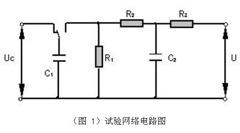 脉冲发生器的试验网络电路