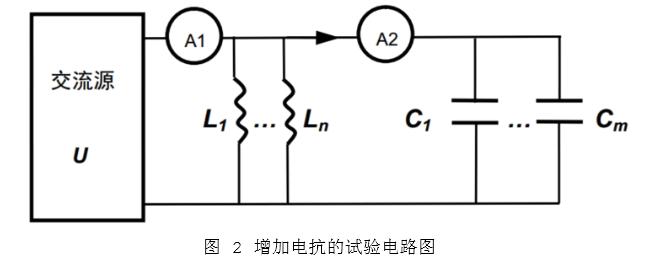 增加电抗的试验电路图